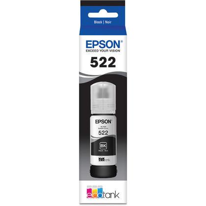 Epson T522 T522120-S Original EcoTank Black Ink Bottle