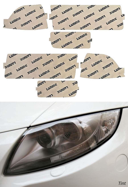 BMW M3 Sedan 95-99 EURO Tint Headlight Covers Lamin-X B201E-2T