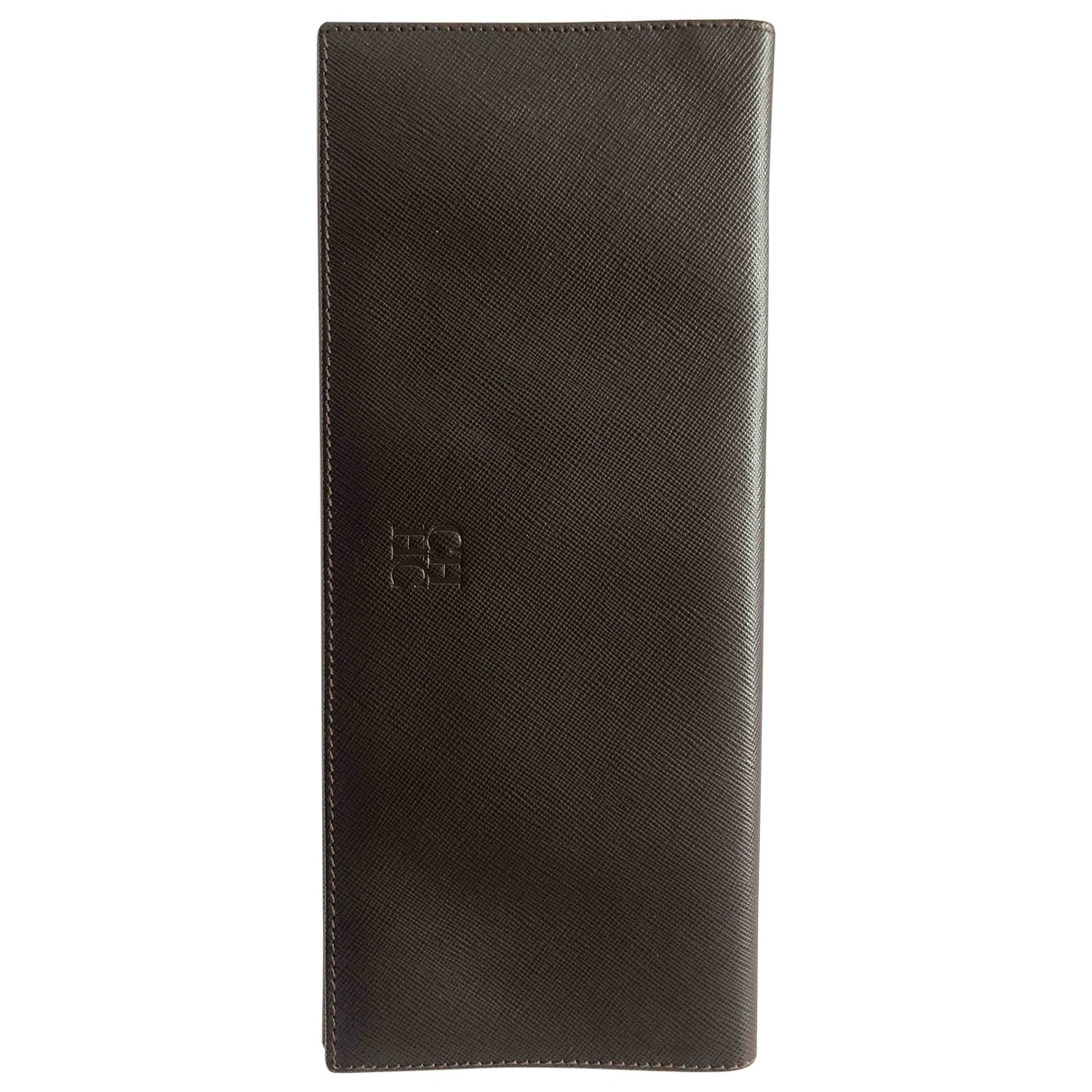 Carolina Herrera \N Brown Leather wallet for Women \N