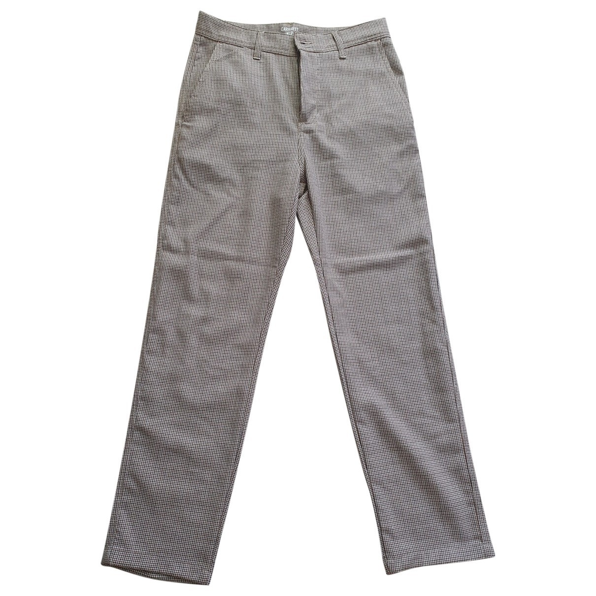 Carhartt \N Brown Wool Trousers for Men 28 UK - US