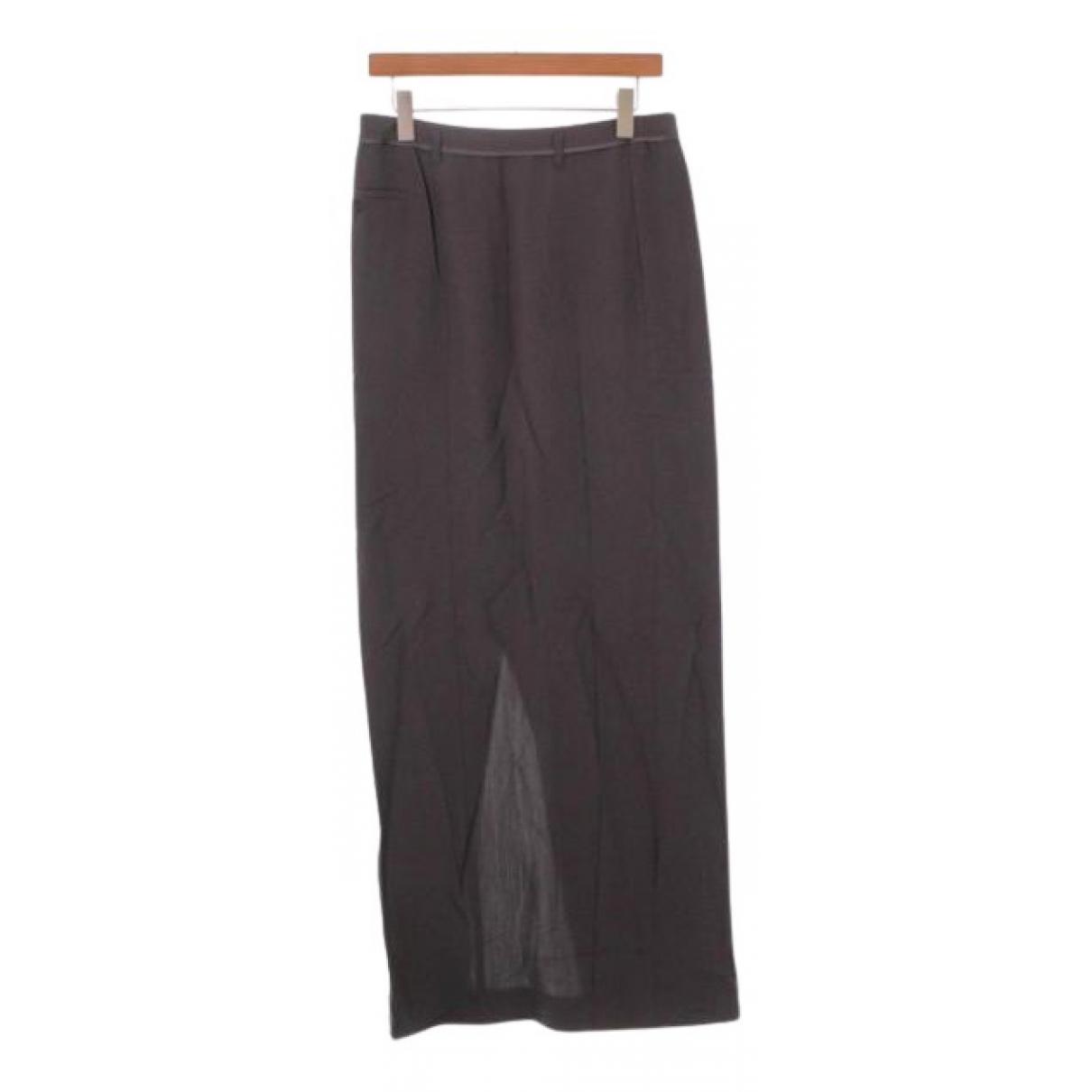 Maison Martin Margiela N Grey Wool skirt for Women 40 FR