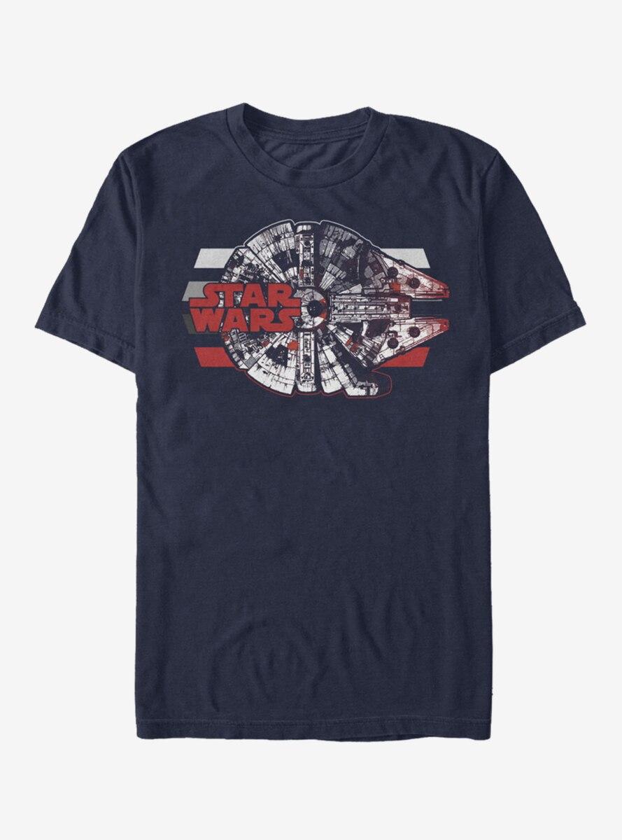 Star Wars Millennium Falcon Profile T-Shirt