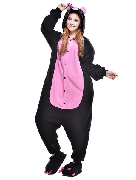 Milanoo Disfraz Halloween Kigurumi para disfraz de cerdo negro Halloween