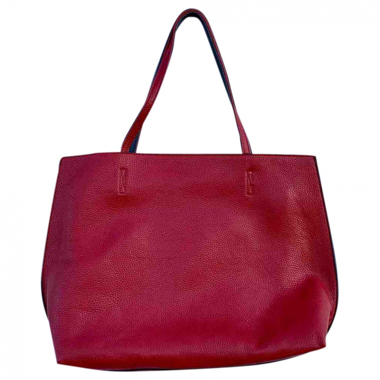 Non Signe / Unsigned \N Handtasche in  Rot Synthetik