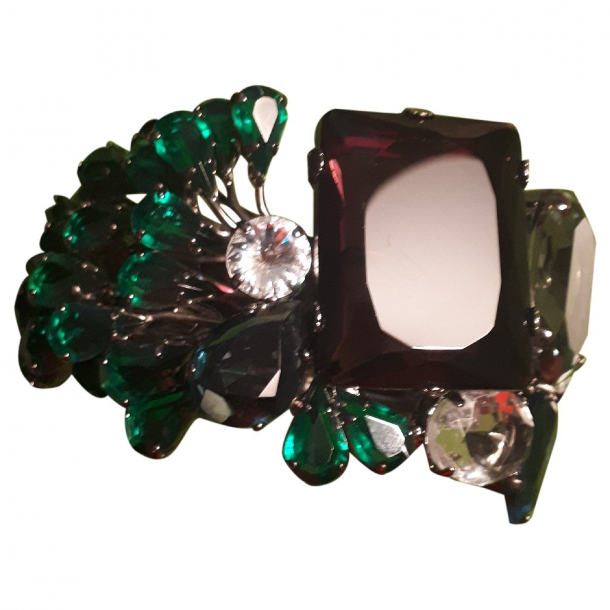 - Bracelet Manchette pour femme en acier - multicolore