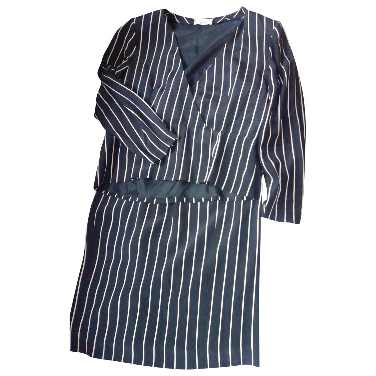 Valentino Garavani - Robe   pour femme en soie - noir