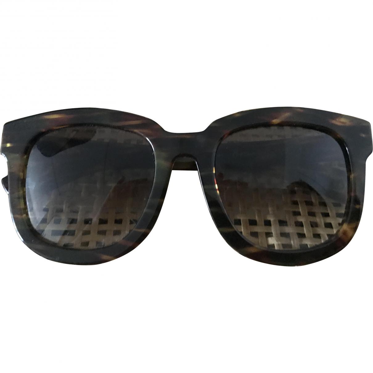Ahlem \N Brown Sunglasses for Women \N