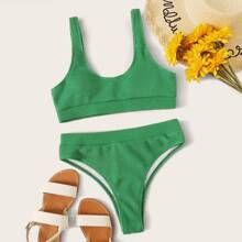 Bikini Set mit hoher Taille