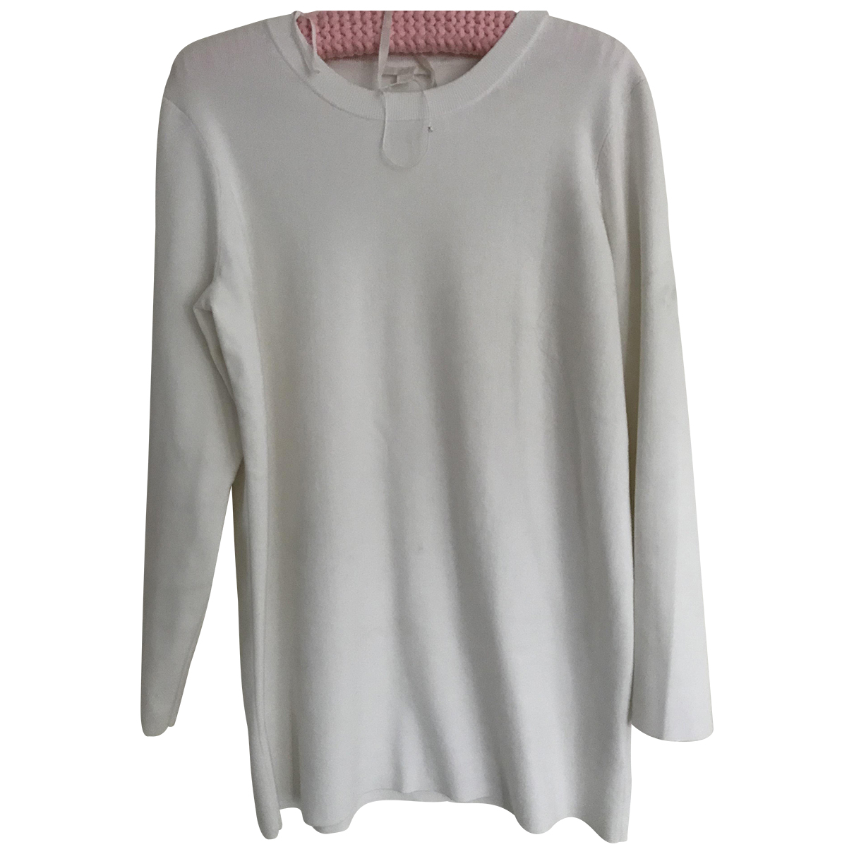 Cos \N Ecru Cotton Knitwear for Women 12 UK