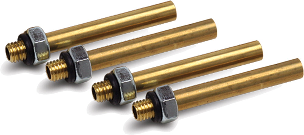 Motion Pro 08-0168 Replacement 6Mm Short Brass Adapters 4/Pk 08-0168