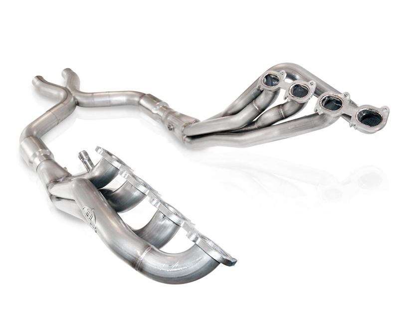 Stainless Works GT145HCAT 1.875in Primary | 3in Collector Headers with X-Pipe & Cats for SW Exhaust Ford Mustang Shelby GT500 07-14