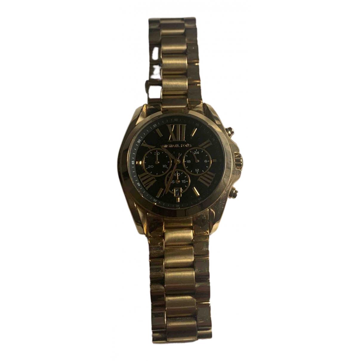 Michael Kors \N Uhr in  Gold Vergoldet