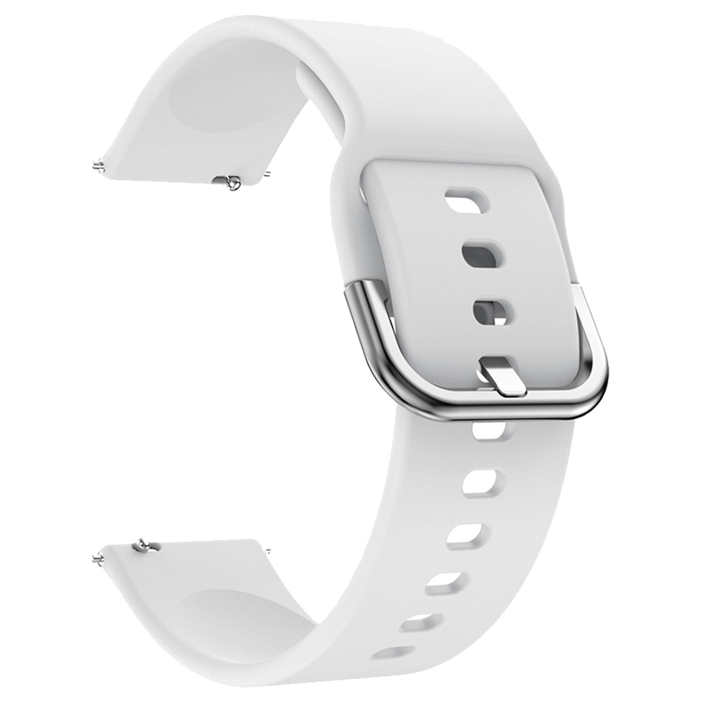 Replacement Watch Band For Huami Amazfit GTS Silicon Strap - White