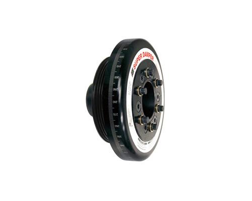 ATI 918471 Racing 7.074 Inch OD Aluminum 5lb Race Super Damper Kit Steel Crank Hub Acura Integra GS-R B18C1 94-01