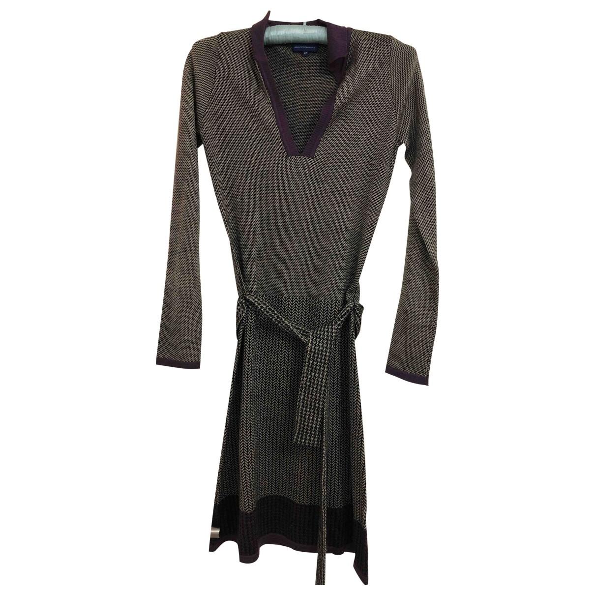 Adolfo Dominguez \N Kleid in  Beige Wolle