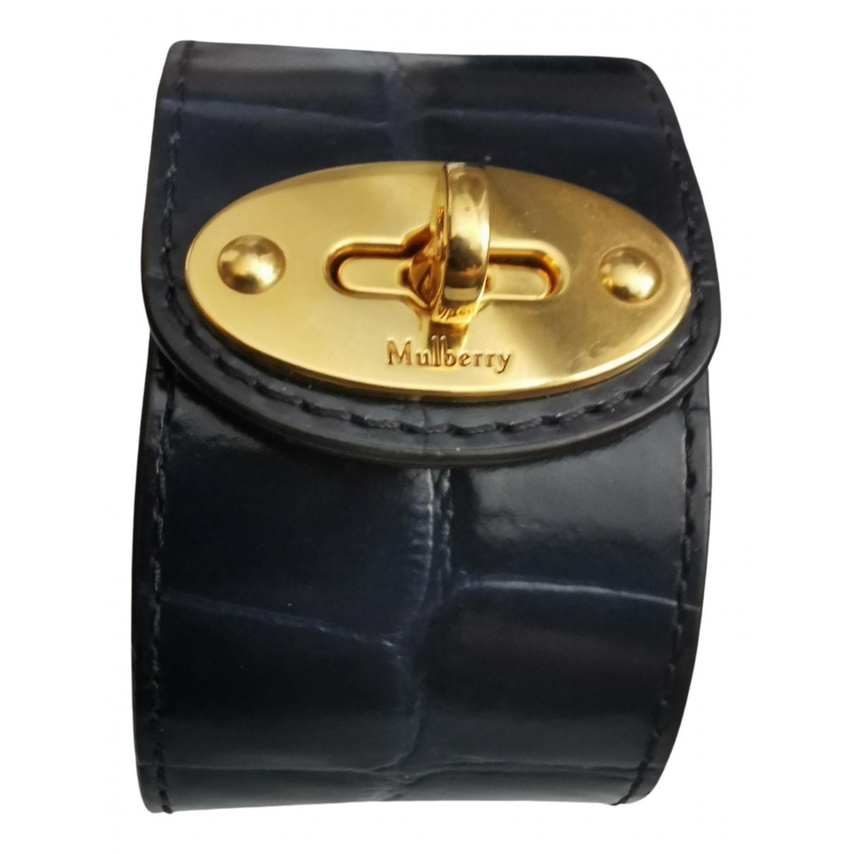 Mulberry - Bracelet   pour femme en cuir - marine