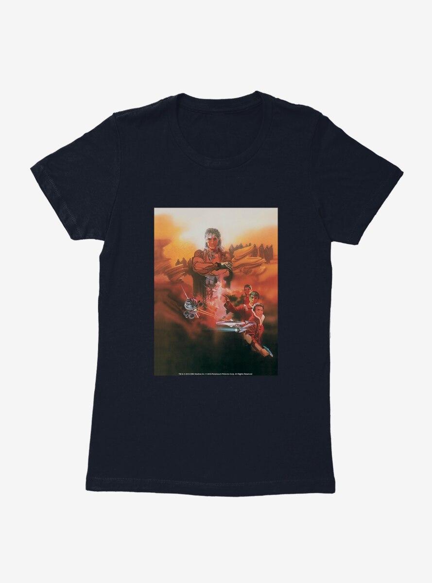 Star Trek Two The Wrath Of Khan Poster Womens T-Shirt