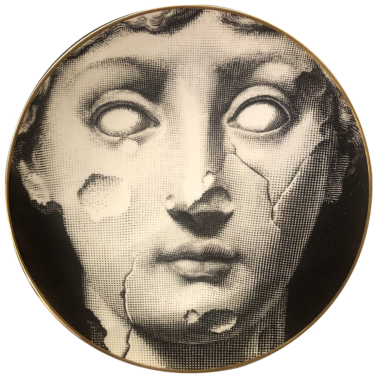 Fornasetti - Arts de la table   pour lifestyle en porcelaine - noir