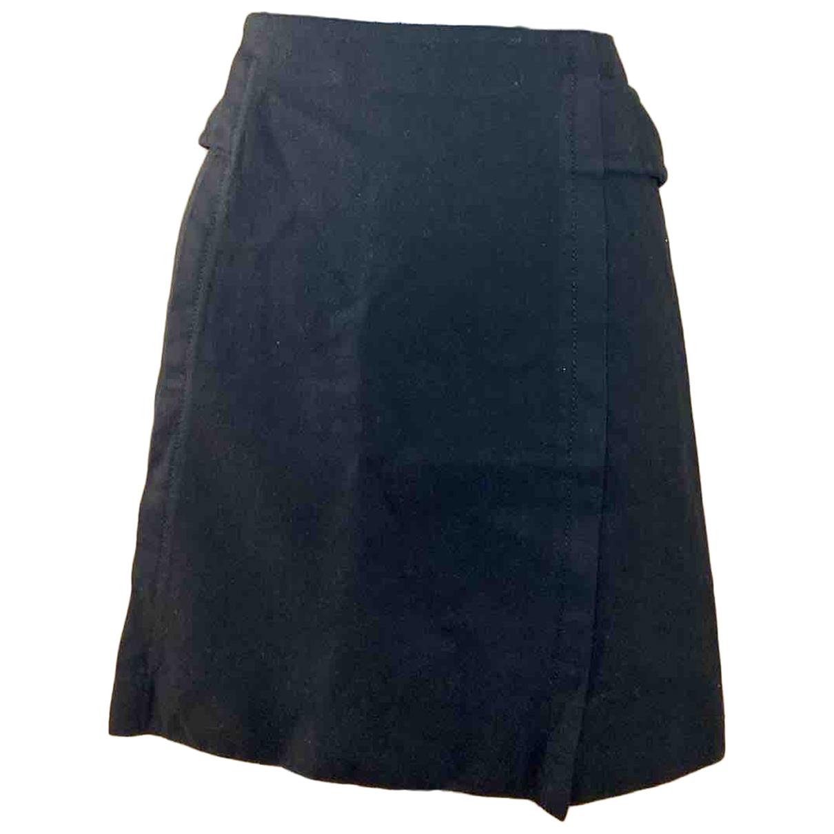 Chanel \N Black Wool skirt for Women 36 FR