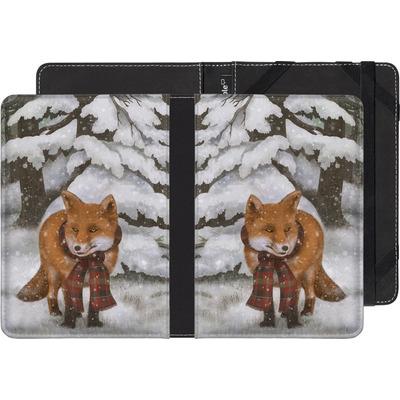 Kobo Glo eBook Reader Huelle - Winter Fox von Terry Fan