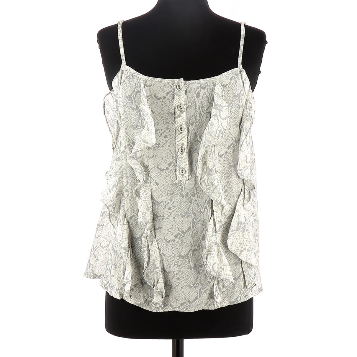 Bel Air \N Grey Silk  top for Women 36 FR