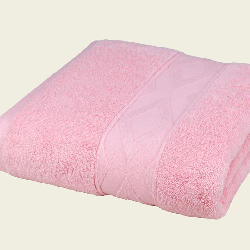 Ericdress Rectangle Colour Cotton Bath Towel