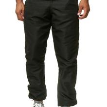 Pantalones deportivos de cintura elastica unicolor