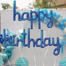 1 Set Geburtstag dekorativer Ballon
