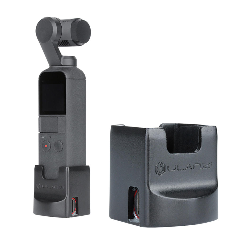 Ulanzi OP2 Gimbal Accessories Vertical Base Holder Fixed Mount for DJI OSMO POCKET with 1/4'' Screw
