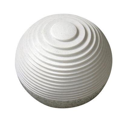BM205919 Contemporary Sandstone Polished Ball with Step Carved Lines