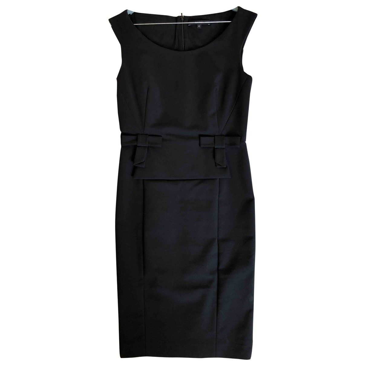 Gucci \N Black Cotton - elasthane dress for Women 42 IT