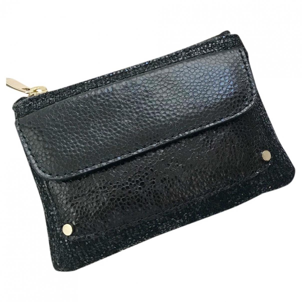 Jimmy Choo \N Black Leather Purses, wallet & cases for Women \N