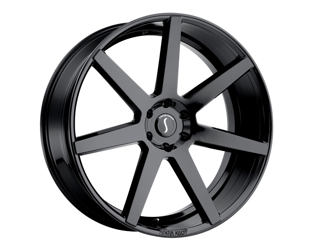 Status Journey Wheel 26x10 5x115 15mm Gloss Black