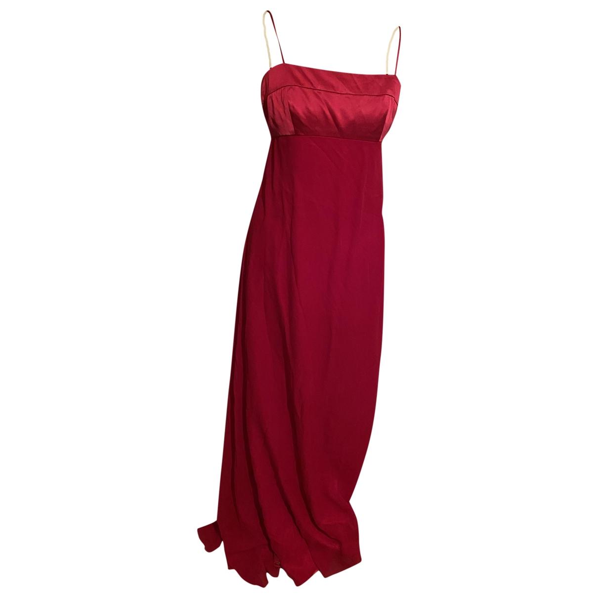 Armani Collezioni \N Kleid in  Rot Seide