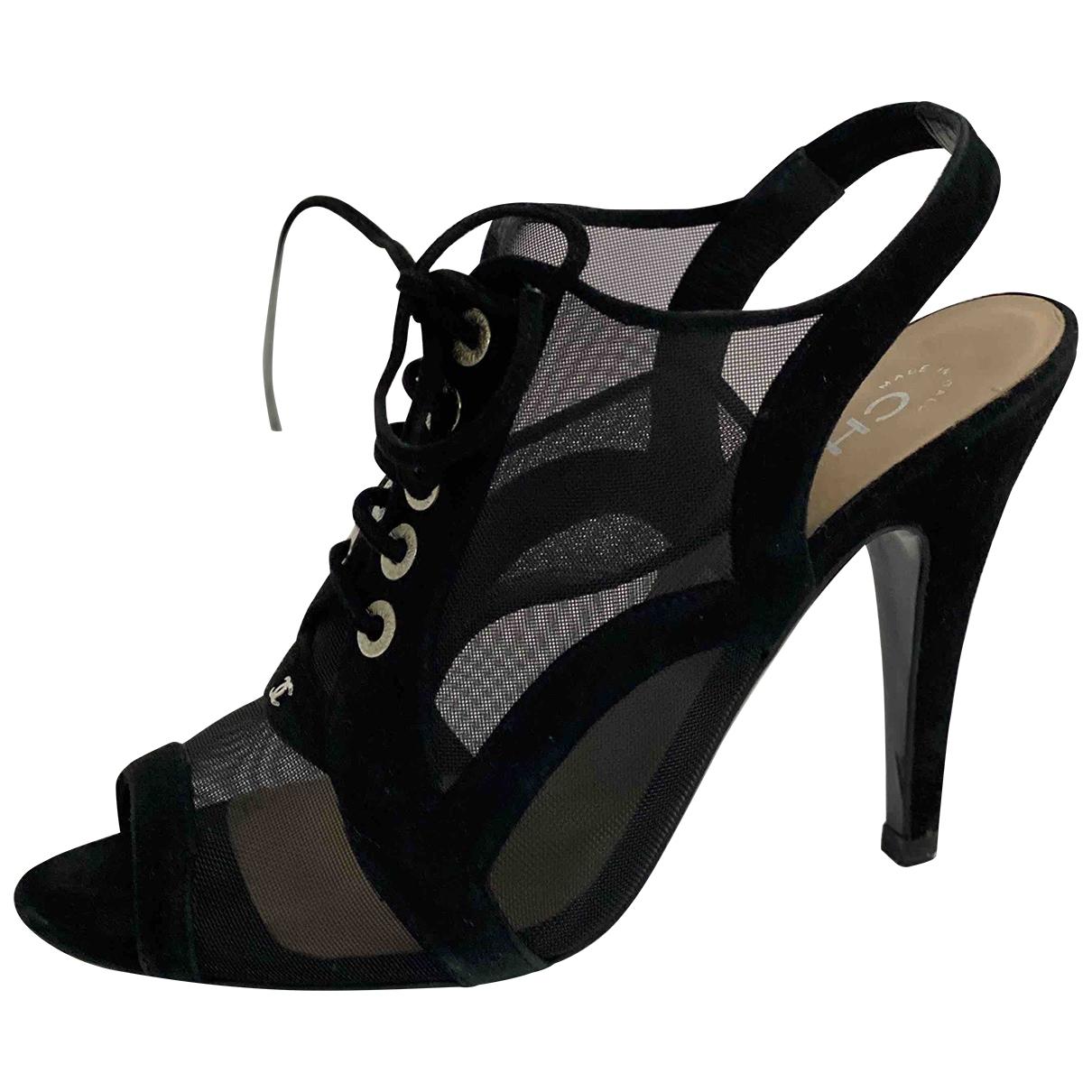 Chanel - Escarpins   pour femme - noir