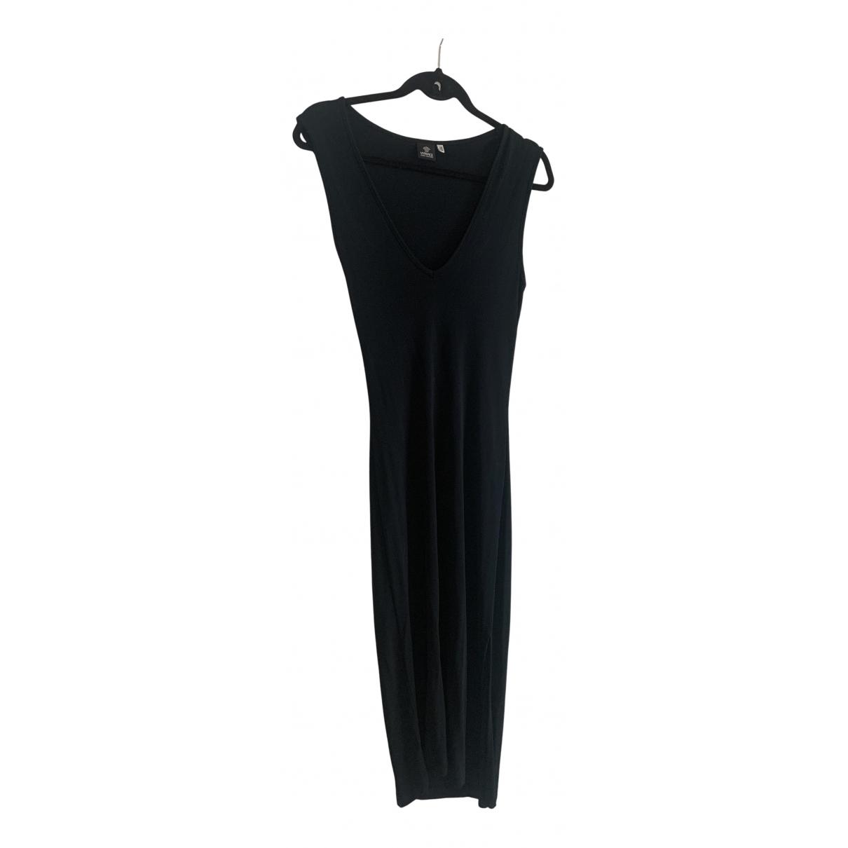 Versace Jeans \N Kleid in  Schwarz Synthetik