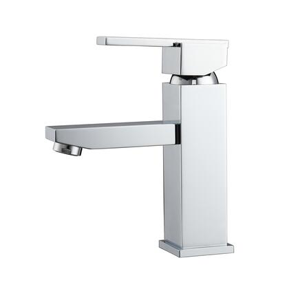 LFS310-CP Fulton Single Handle Lavatory Faucet with Hoses  Polished