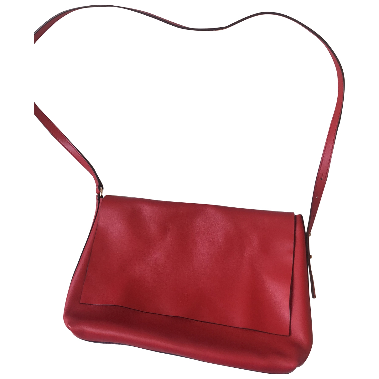 Carolina Herrera \N Red Fur Travel bag for Women \N