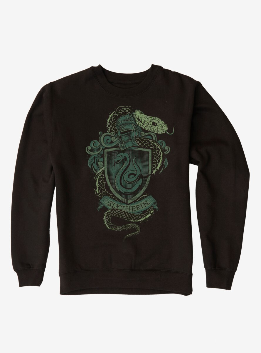 Harry Potter Slytherin Logo Sweatshirt