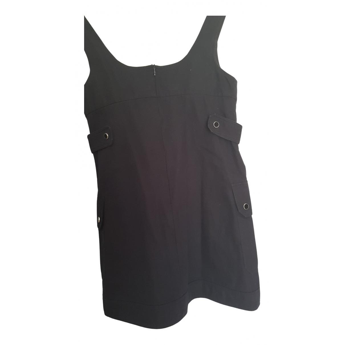 Tara Jarmon \N Kleid in  Schwarz Baumwolle