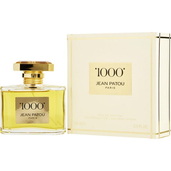 1000 - Jean Patou Eau de parfum 75 ML