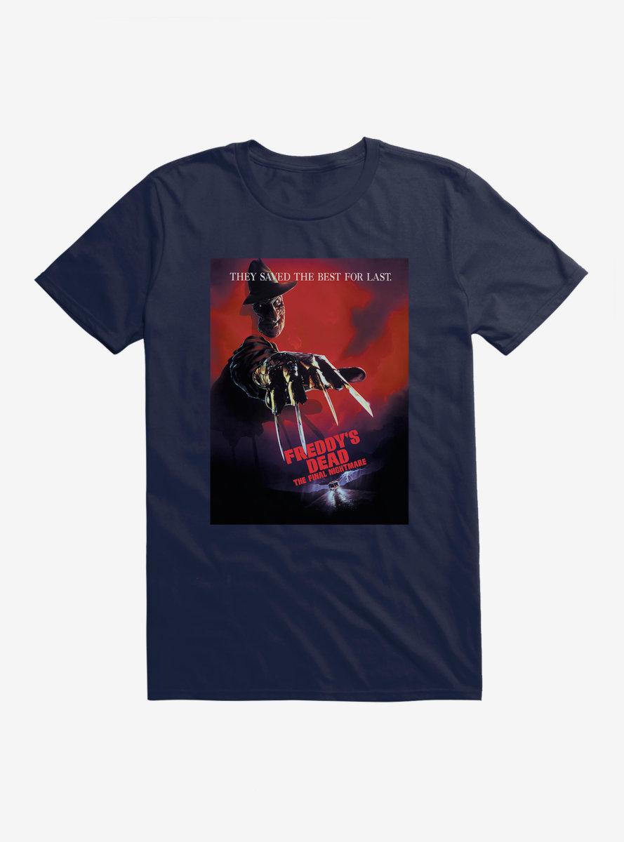 A Nightmare On Elm Street Freddy's Dead T-Shirt