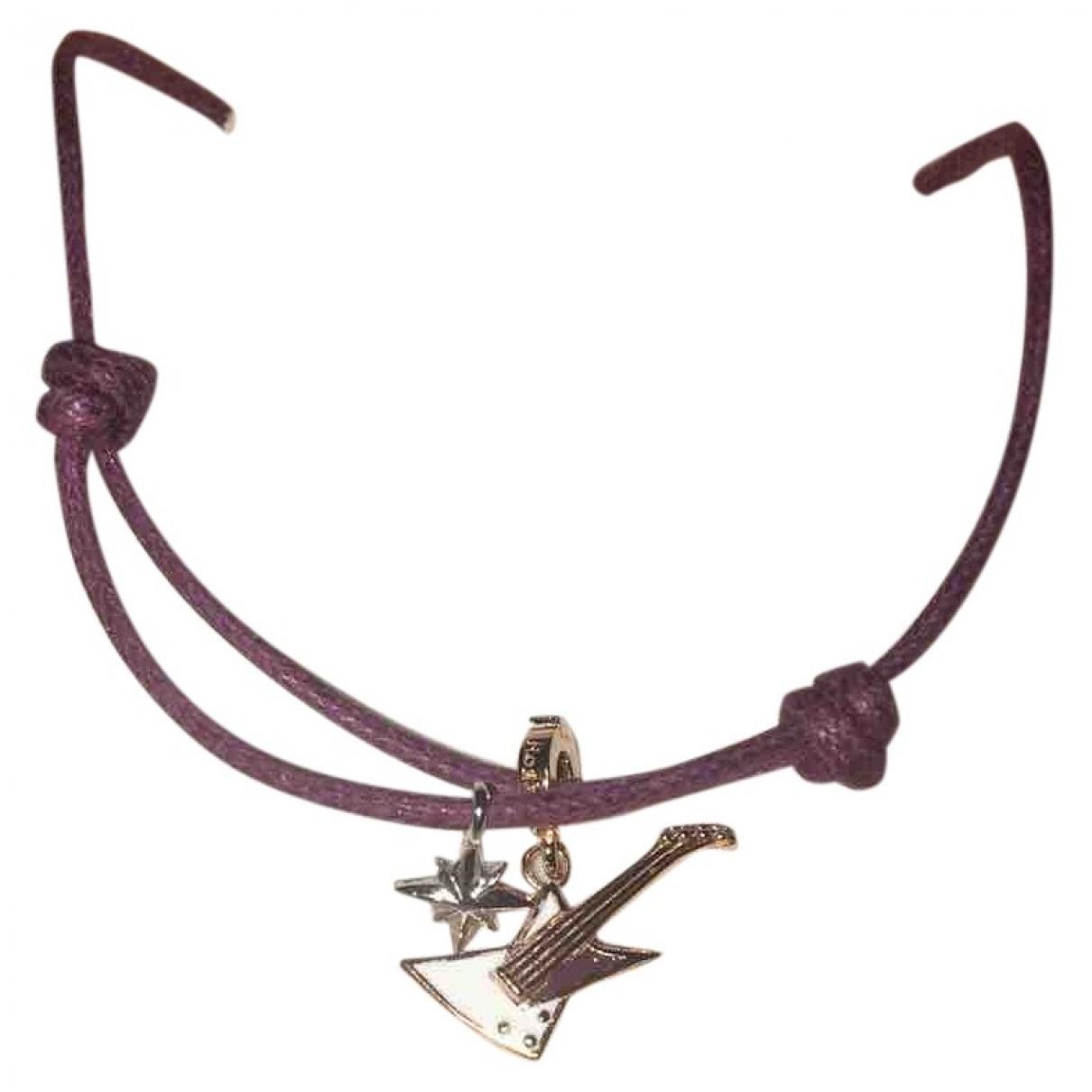- Bracelet   pour femme en argent - violet