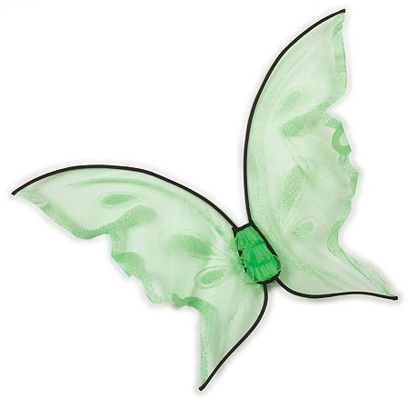 Hot Color Butterfly Wings, One Size , Green