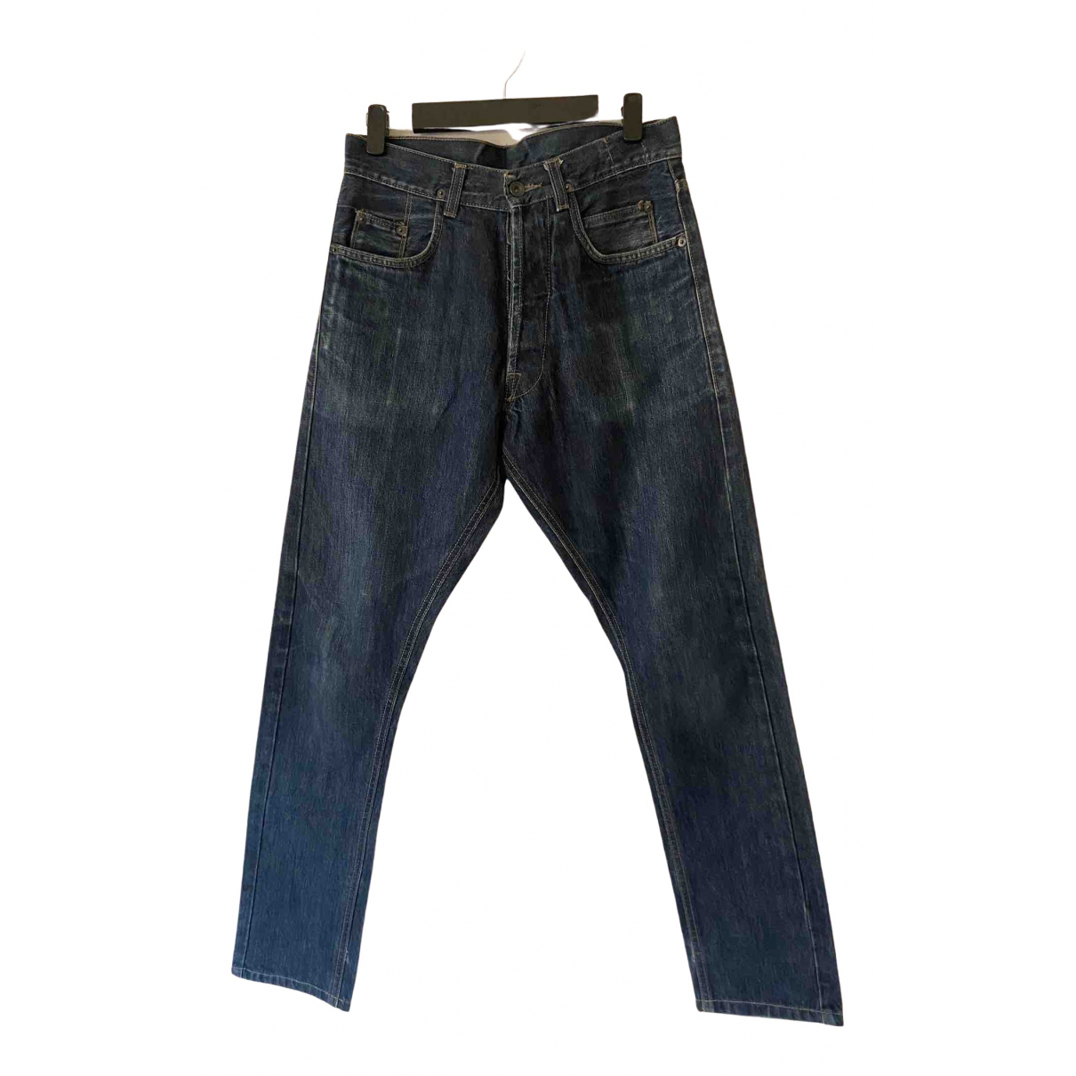 Rick Owens Drkshdw N Blue Cotton Jeans for Men 28 US