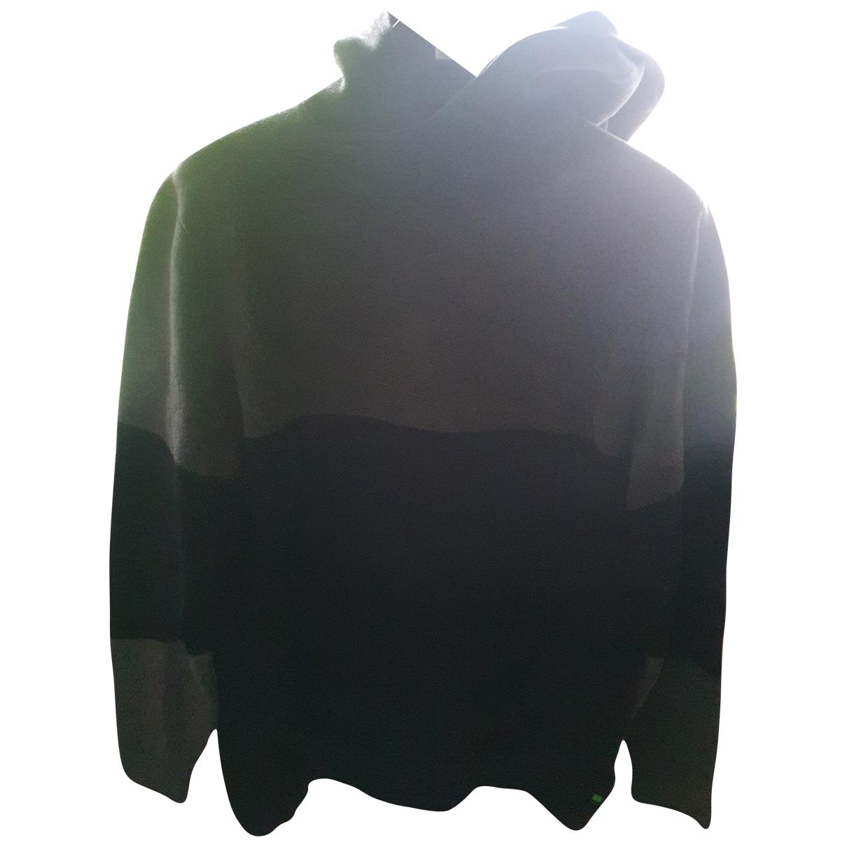 Hugo Boss \N Pullover.Westen.Sweatshirts  in  Schwarz Baumwolle