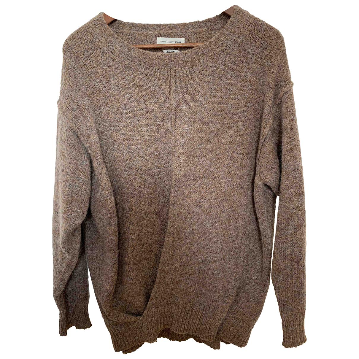 Isabel Marant Etoile - Pull   pour femme en laine - marron
