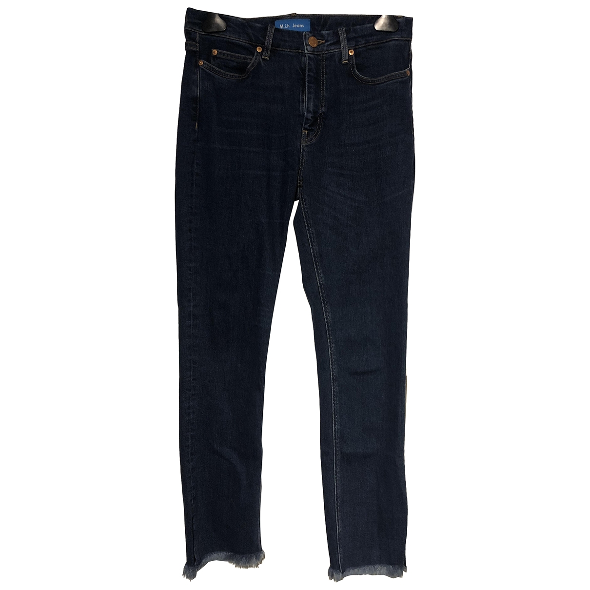 Mih Jeans \N Blue Denim - Jeans Trousers for Women 12 UK