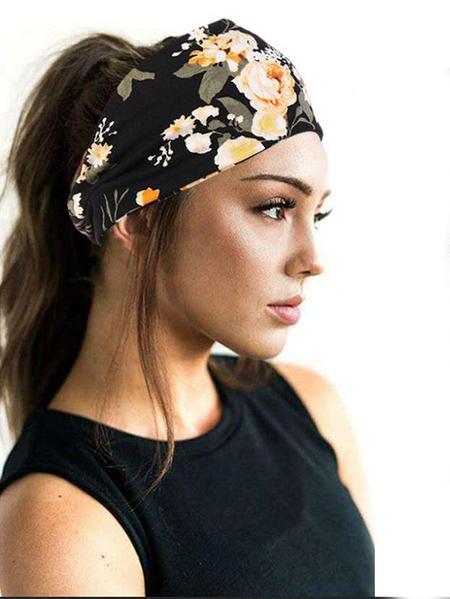 Yoins Floral Print Vintage Headband