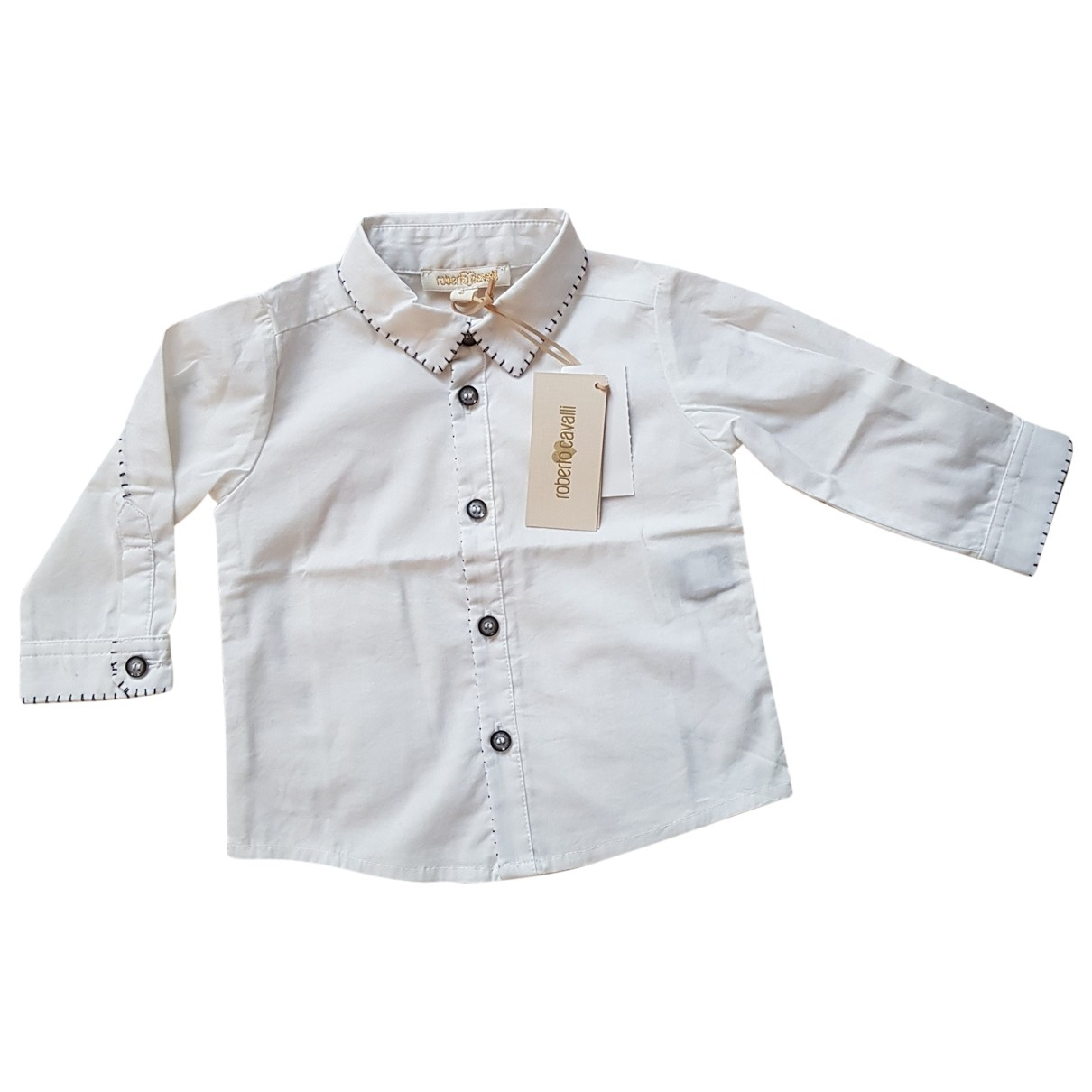 Roberto Cavalli \N White Cotton Outfits for Kids 3 months - up to 60cm FR